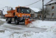 Photo of Zimska služba od sinoć neprestano na terenu, čisti se 220 km prometnica i nogostupa