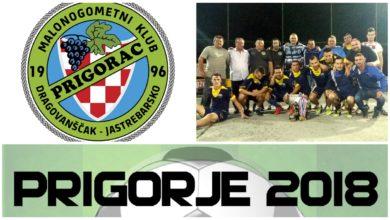 Photo of U petak počinje malonogometna liga 'Prigorje 2018.'