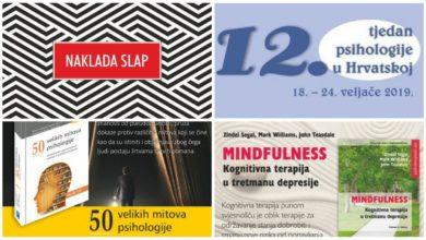 Photo of Naklada Slap u sklopu Tjedna psihologije predstavlja svoje knjige i predavanja