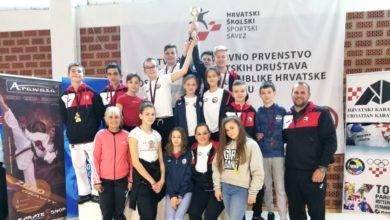 Photo of Školska karate ekipa treća na Državnom prvenstvu