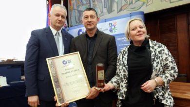 Photo of Zdenko Šember dobitnik najvišega priznanja Obrtničke komore Zagreb