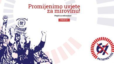 Photo of '67 je previše' | Jutros počelo prikupljanje potpisa diljem Hrvatske, u Jaski u ponedjeljak