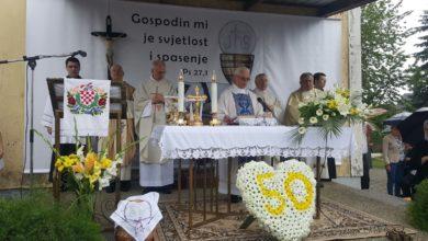 Photo of Zlatna misa desinečkog župnika Petra Ribarića | foto, audio, video