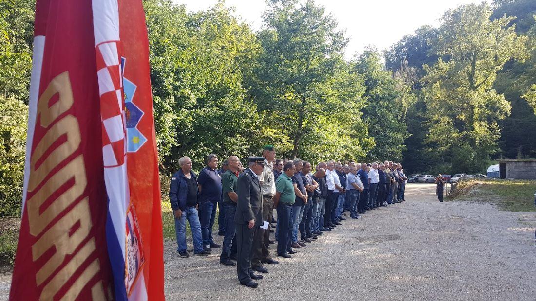 28. obljetnica prvog postrojavanja u Vranov Dolu | audio, foto