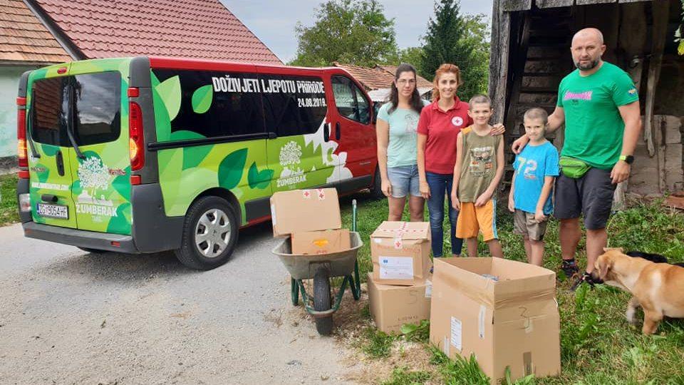 Humanitarna akcija dviju jaskanskih udruga