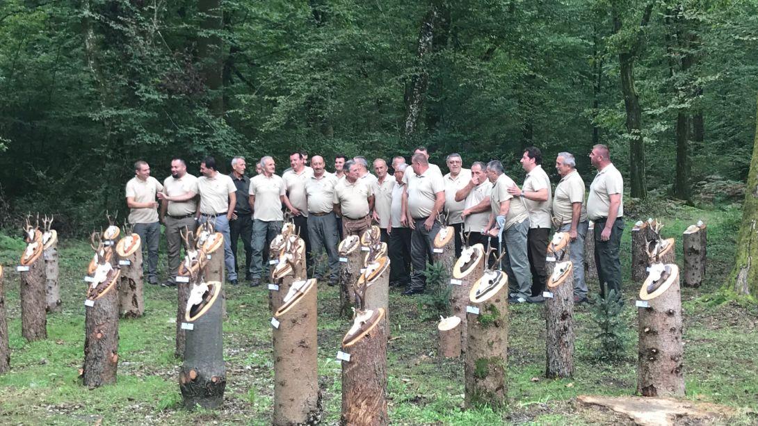 Dan otvorenih vrata lovačkog društva Srnjak iz Volavja | audio, foto