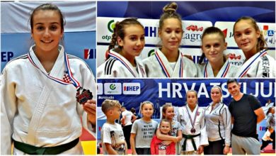 Photo of 13-godišnja judašica Nika Markulin srebrna na Prvenstvu Hrvatske u kategoriji U16