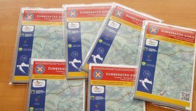 Photo of HGSS-ova karta žumberačkog područja službeno predstavljena u Jastrebarskom