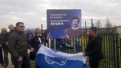Photo of Nogometni stadion Centrala preimenovan u Marijan Bradvić Mara