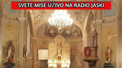 Photo of Prijenos uživo nedjeljne mise iz Župe svetog Nikole biskupa | VIDEO